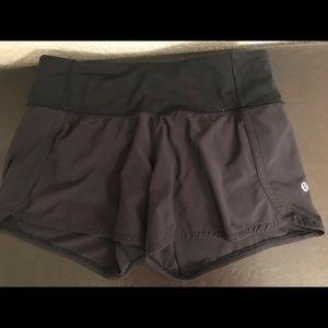 Size 4 Run Times Lululemon Shorts
